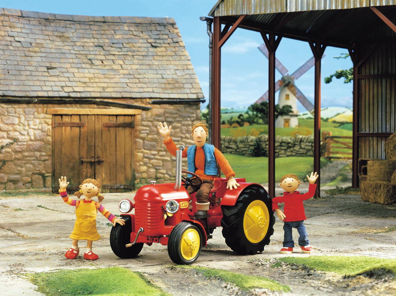 kleiner roter traktor 13 - alles käse - russell haigh