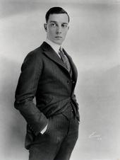Buster Keaton Künstlerporträt 143506 Keaton, Buster