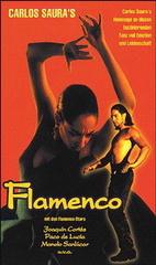 Carlos Sauras Flamenco Filmplakat
