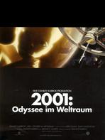 2001 - Odyssee im Weltraum - Filmplakat