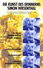 Die Kunst des Erinnerns - Simon Wiesenthal Filmplakat