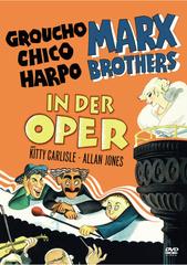Die Marx Brothers in der Oper Filmplakat