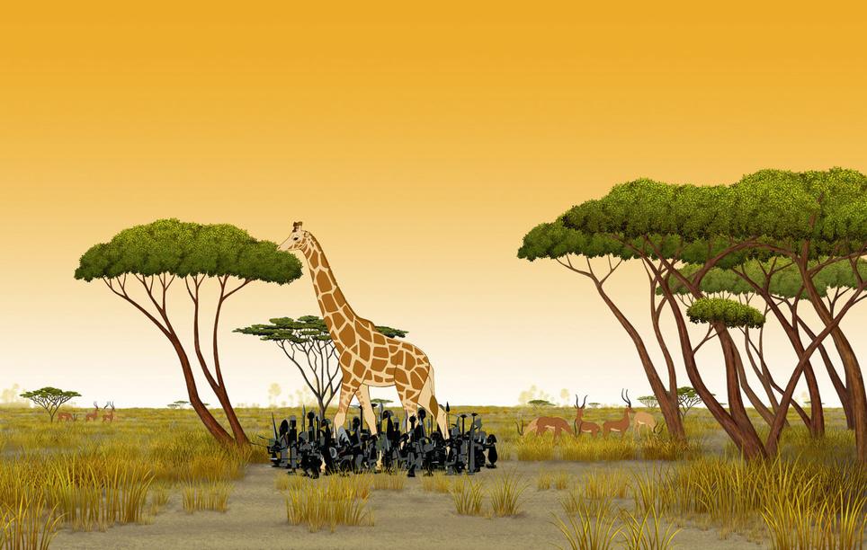 Kiriku und die wilden Tiere Kirikou et les bêtes sauvages, Kinostart 05.10.2006, Frankreich 2005
