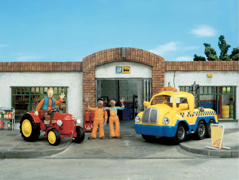 Kleiner roter traktor landleben russell haigh dave