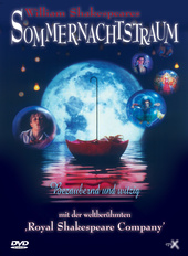 William Shakespeares Sommernachtstraum Filmplakat
