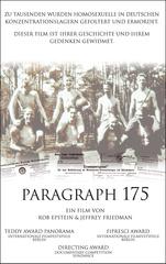 Paragraph 175 Filmplakat
