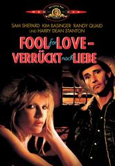 Fool For Love - Verrückt nach Liebe Filmplakat