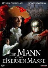 Der Mann mit der eisernen Maske Filmplakat