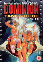 Dominion Tank Police - Vol. 01, Acts 1&2 Filmplakat