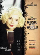 The Saddest Music in the World (OmU) Filmplakat