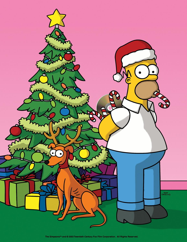 die simpsons weihnachten mit den simpsons matt