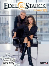 Edel & Starck - Partner wider Willen (3. Staffel, 13 Folgen) (4 DVDs) Filmplakat