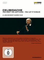Celibidache - You Don't Do Anything, You Let It Evolve Filmplakat