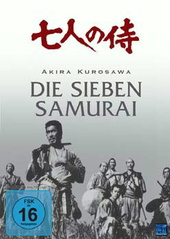 Akira Kurosawa - Die sieben Samurai Filmplakat
