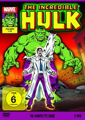 The Incredible Hulk - Die komplette Serie (2 DVDs, OmU) Filmplakat