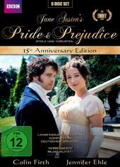 Jane Austen's Pride & Prejudice - 15th Anniversary Edition (6 Discs) Filmplakat