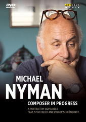 Michael Nyman - Composer in Progress (NTSC) Filmplakat