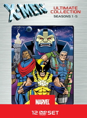 X-Men Ultimate Collection - Season 1-5 (12 Discs) Filmplakat