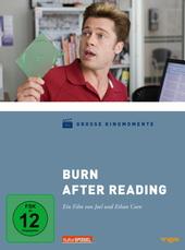 Burn After Reading Filmplakat