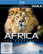 Seen on Imax: Africa - The Serengeti Filmplakat