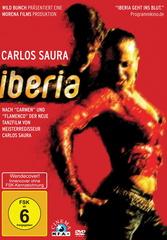 Iberia - Carlos Saura Filmplakat