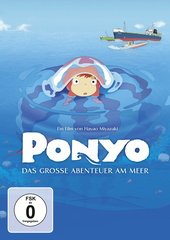 Ponyo - Das große Abenteuer am Meer Filmplakat