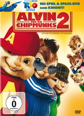 Alvin und die Chipmunks 2 (+ Rio Activity Disc) Filmplakat