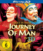 Cirque du Soleil - Journey of Man (Blu-ray 3D, OmU) Filmplakat