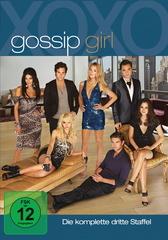Gossip Girl - Die komplette dritte Staffel (5 Discs) Filmplakat