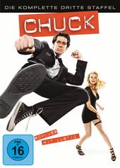 Chuck - Die komplette dritte Staffel (5 Discs) Filmplakat