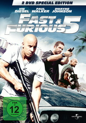 Fast & Furious 5 (Special Edition, 2 Discs) Filmplakat