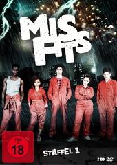 Misfits - Staffel 1 (2 Discs) Filmplakat