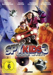 Spy Kids 3 - Game Over Filmplakat
