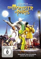 Ein Monster in Paris Filmplakat