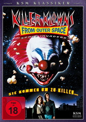 Killer Klowns from Outer Space Filmplakat