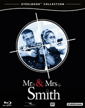 Mr. & Mrs. Smith (Steelbook Collection) Filmplakat