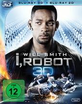 I, Robot (Blu-ray 3D, 2 Discs) Filmplakat