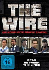 The Wire - Die komplette fünfte Staffel (4 Discs) Filmplakat
