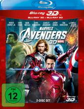 Marvel's The Avengers (Blu-ray 3D, + Blu-ray 2D) Filmplakat