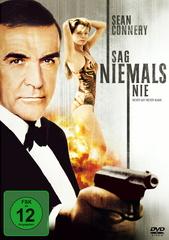 James Bond 007 - Sag niemals nie Filmplakat