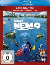 Findet Nemo (Blu-ray 3D, + Blu-ray 2D) Filmplakat