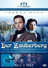Der Zauberberg - Der komplette Mehrteiler (4 Discs, Langfassung) Filmplakat