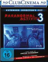 Paranormal Activity 3 (Extended Director's Cut, + Kinoversion) Filmplakat