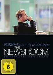 The Newsroom - Die komplette erste Staffel (4 Discs) Filmplakat