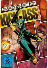 Kick-Ass (Limited Edition, Steelbook) Filmplakat