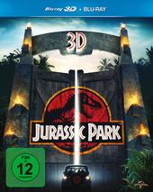 Jurassic Park (Blu-ray 3D, + Blu-ray 2D) Filmplakat