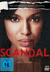 Scandal - Die komplette erste Staffel (2 Discs) Filmplakat
