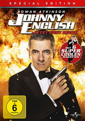 Johnny English - Jetzt erst recht (Special Edition) Filmplakat