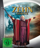 Die zehn Gebote (Masterworks Collection, 2 Discs) Filmplakat