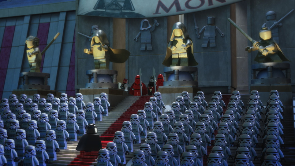 Lego Star Wars: The Empire Strikes Out USA 2012